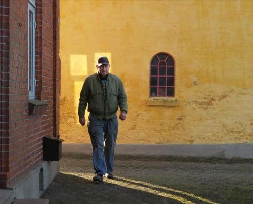 Gunner Larsen goer klar til nyt hvalpekuld